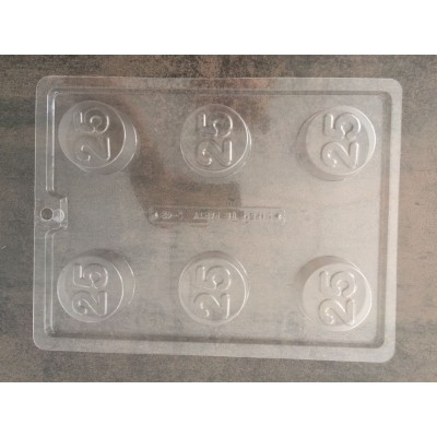 Cookie Mold 25 Jubileum