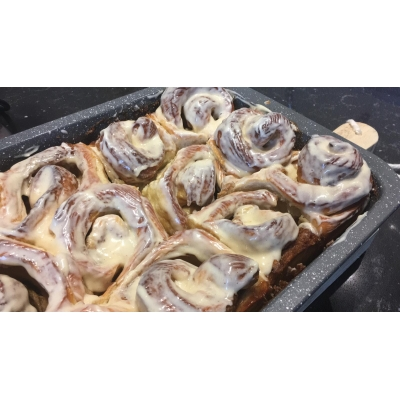 Bakpakket Apple Cinnamon Rolls
